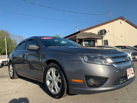 2012 Ford Fusion for sale at El Rancho Auto Sales in Des Moines IA