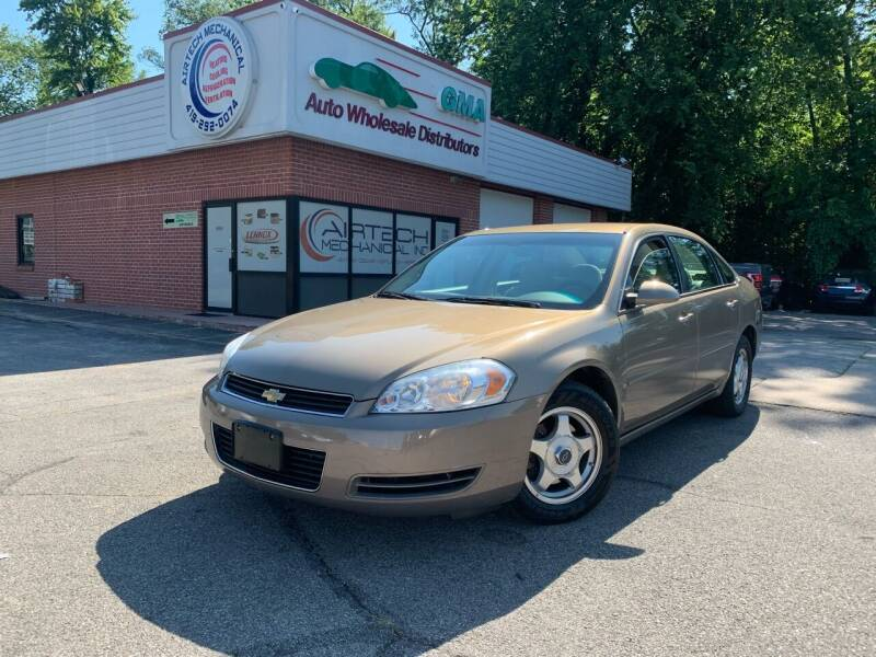 2007 Chevrolet Impala for sale at GMA Automotive Wholesale in Toledo OH