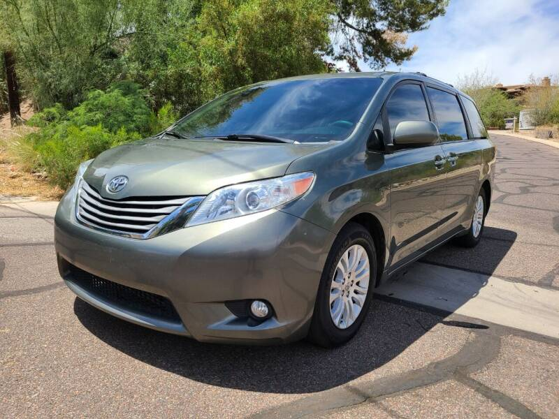 2012 Toyota Sienna for sale at BUY RIGHT AUTO SALES in Phoenix AZ