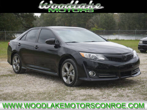 2014 Toyota Camry for sale at WOODLAKE MOTORS in Conroe TX