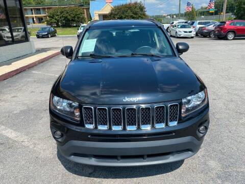 2016 Jeep Compass for sale at J Franklin Auto Sales in Macon GA