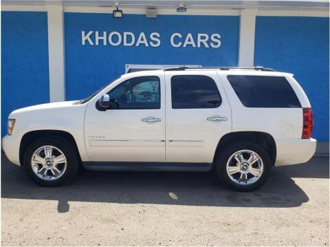 2010 Chevrolet Tahoe for sale at Khodas Cars in Gilroy CA