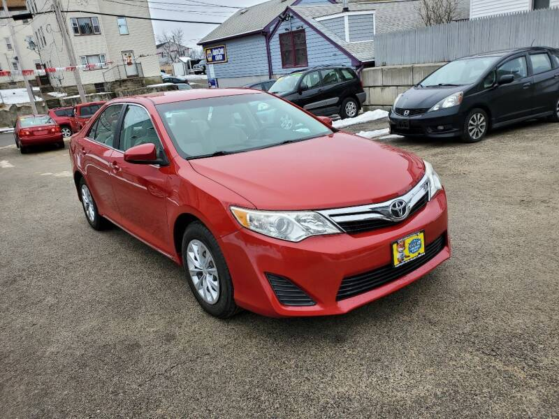2012 Toyota Camry for sale at Fortier's Auto Sales & Svc in Fall River MA
