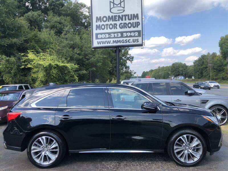 2017 Acura MDX for sale at Momentum Motor Group in Lancaster SC