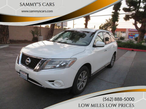 "2015 Nissan Pathfinder for sale at SAMMY""S CARS in Bellflower CA"