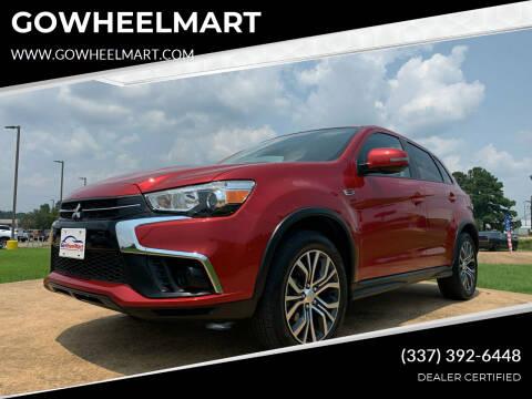 2018 Mitsubishi Outlander Sport for sale at GOWHEELMART in Leesville LA