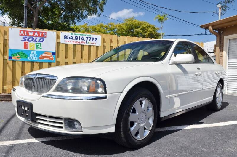 2003 Lincoln LS for sale at ALWAYSSOLD123 INC in Fort Lauderdale FL
