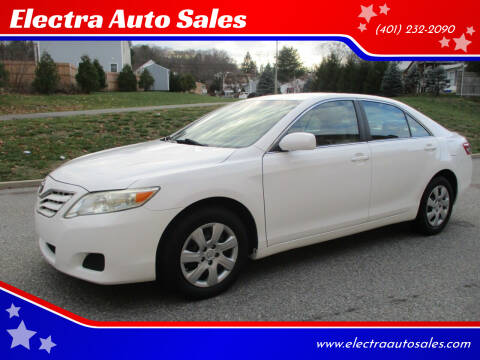 2010 Toyota Camry for sale at Electra Auto Sales in Johnston RI