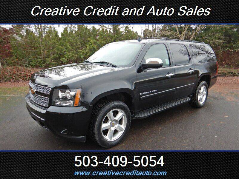 2007 Chevrolet Suburban for sale at Creative Credit & Auto Sales in Salem OR