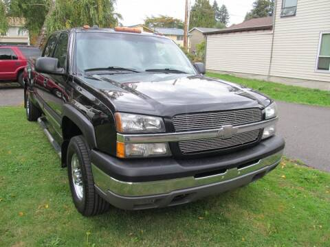 2004 Chevrolet Silverado 2500 for sale at Seattle Motorsports in Shoreline WA