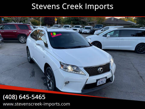 2013 Lexus RX 350 for sale at Stevens Creek Imports in San Jose CA