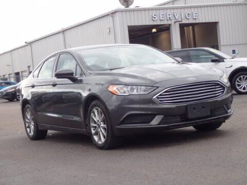 2017 Ford Fusion for sale at Szott Ford in Holly MI