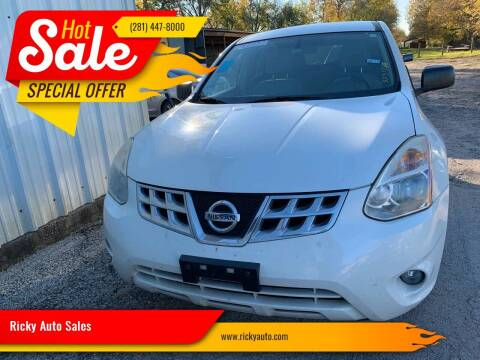 2012 Nissan Rogue for sale at Ricky Auto Sales in Houston TX