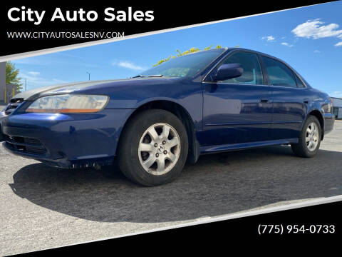 2001 Honda Accord for sale at City Auto Sales in Sparks NV