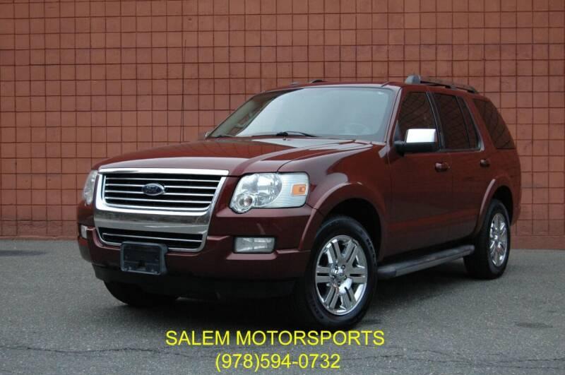 2010 Ford Explorer for sale at Salem Motorsports in Salem MA