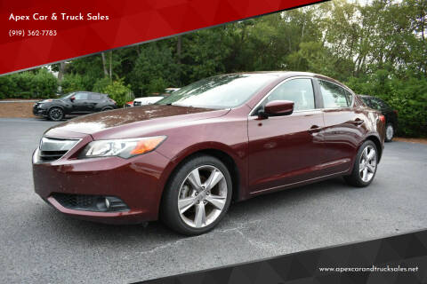 2014 Acura ILX for sale at Apex Car & Truck Sales in Apex NC