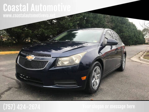 2011 Chevrolet Cruze for sale at Coastal Automotive in Virginia Beach VA