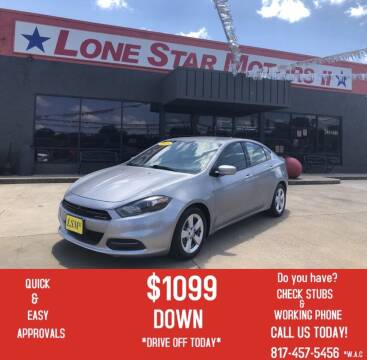 2016 Dodge Dart for sale at LONE STAR MOTORS II in Fort Worth TX