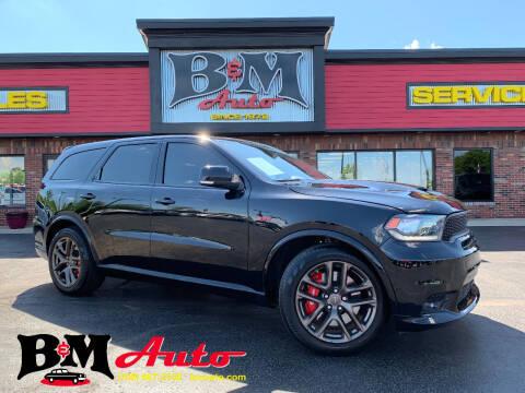 2020 Dodge Durango for sale at B & M Auto Sales Inc. in Oak Forest IL