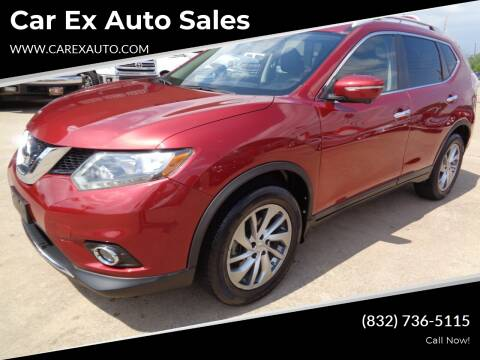 2014 Nissan Rogue for sale at Car Ex Auto Sales in Houston TX
