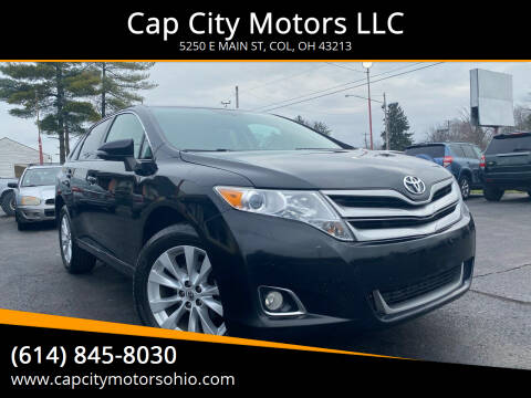 2013 Toyota Venza for sale at Cap City Motors LLC in Columbus OH