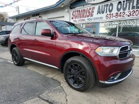 2017 Dodge Durango for sale at Sunrise Auto Outlet in Amityville NY
