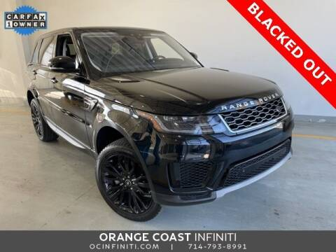 2019 Land Rover Range Rover Sport for sale at ORANGE COAST CARS in Westminster CA