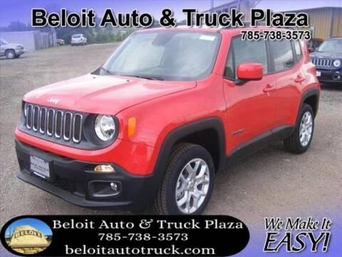 2018 Jeep Renegade for sale at BELOIT AUTO & TRUCK PLAZA INC in Beloit KS