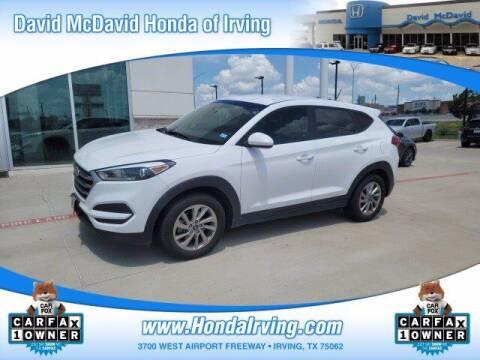 2017 Hyundai Tucson for sale at DAVID McDAVID HONDA OF IRVING in Irving TX