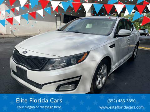 2015 Kia Optima for sale at Elite Florida Cars in Tavares FL