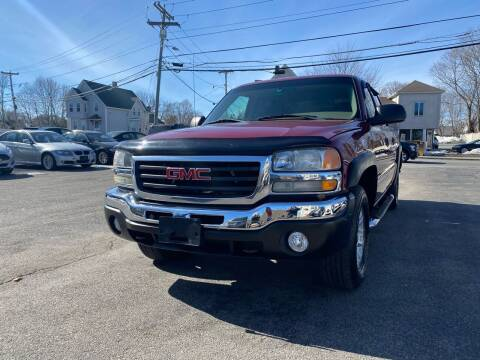 2006 GMC Sierra 1500 for sale at Auto Gallery in Taunton MA