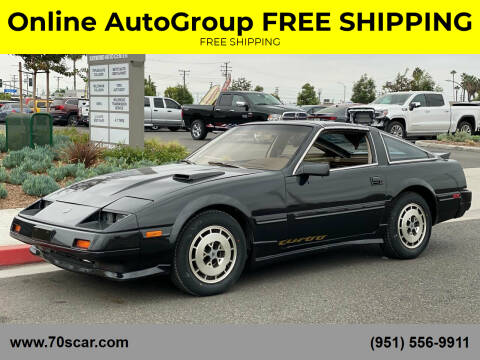 1984 Nissan 300ZX for sale at Online AutoGroup FREE SHIPPING in Riverside CA