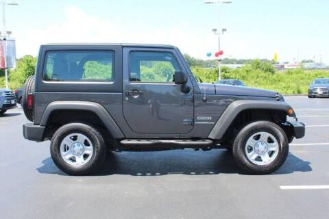 2017 Jeep Wrangler for sale at Twin City Toyota in Herculaneum MO
