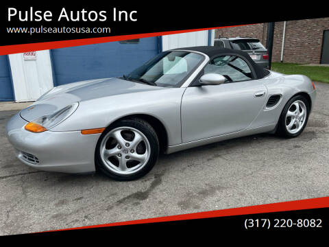 1999 Porsche Boxster for sale at Pulse Autos Inc in Indianapolis IN