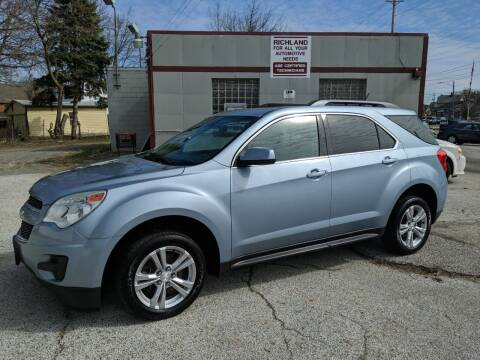 2014 Chevrolet Equinox for sale at Richland Motors in Cleveland OH