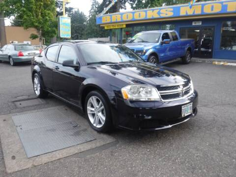 2012 Dodge Avenger for sale at Brooks Motor Company, Inc in Milwaukie OR