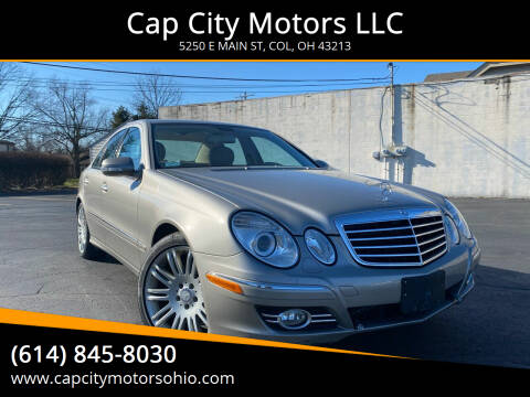 2008 Mercedes-Benz E-Class for sale at Cap City Motors LLC in Columbus OH