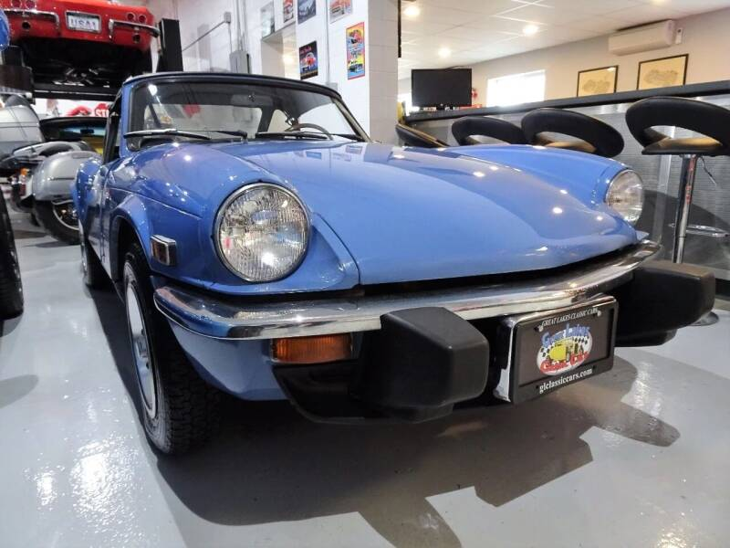 1976 Triumph SPITFIRE for sale at Great Lakes Classic Cars & Detail Shop in Hilton NY