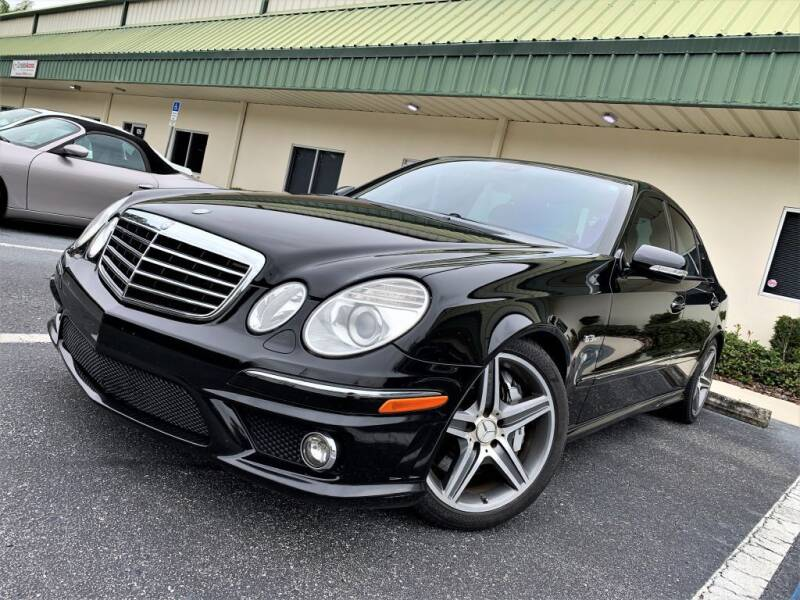 2008 Mercedes-Benz E-Class for sale at Fisher Motor Group LLC in Bradenton FL