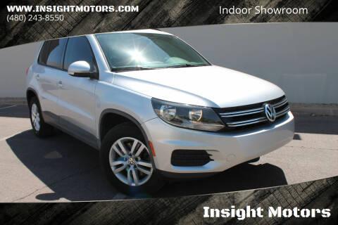2015 Volkswagen Tiguan for sale at Insight Motors in Tempe AZ