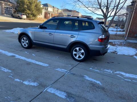2008 BMW X3 for sale at AROUND THE WORLD AUTO SALES in Denver CO