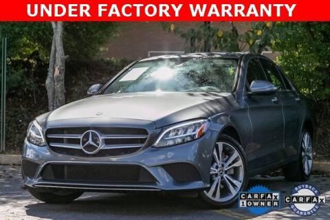 2019 Mercedes-Benz C-Class for sale at Gravity Autos Atlanta in Atlanta GA