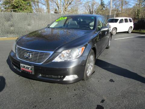 2007 Lexus LS 460 for sale at LULAY'S CAR CONNECTION in Salem OR
