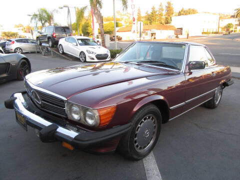 1986 Mercedes-Benz 560-Class for sale at Eagle Auto in La Mesa CA