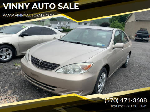 2004 Toyota Camry for sale at VINNY AUTO SALE in Duryea PA