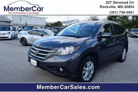 2013 Honda CR-V for sale at MemberCar in Rockville MD
