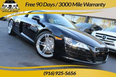 2012 Audi R8 for sale at West Coast Auto Sales Center in Sacramento CA