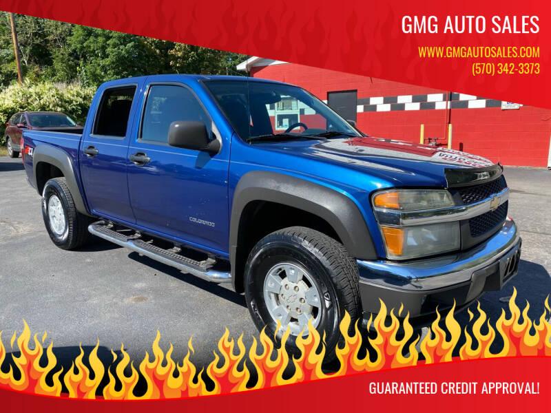 2005 Chevrolet Colorado for sale at GMG AUTO SALES in Scranton PA