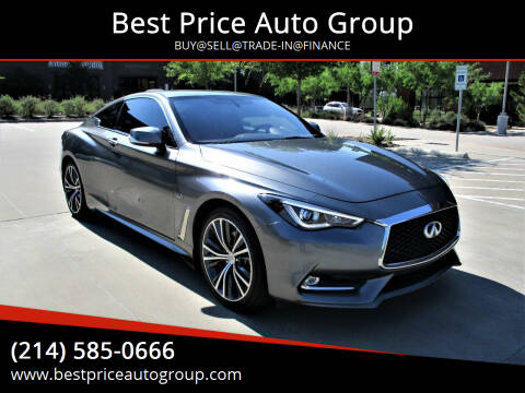 2017 Infiniti Q60 for sale at Best Price Auto Group in Mckinney TX