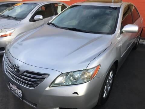 2007 Toyota Camry Hybrid for sale at CARZ in San Diego CA